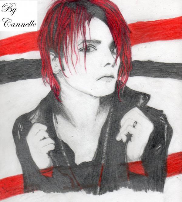 Gerard Way by Cannelleechelon